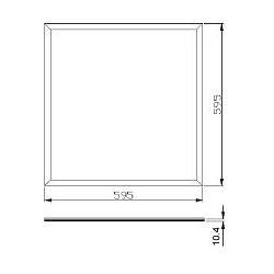 Spot LED 7 cm ∅ - gradable
