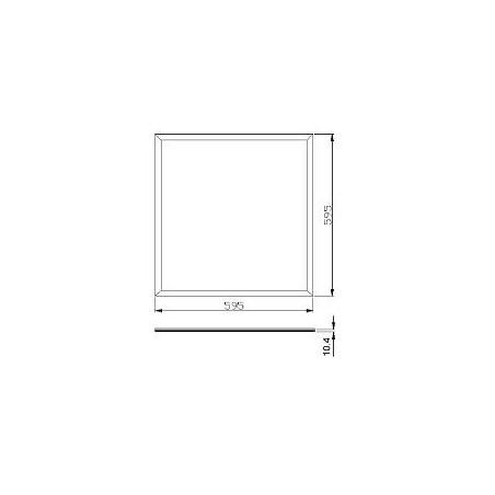 LED-Spot 7cm ∅ - weiss