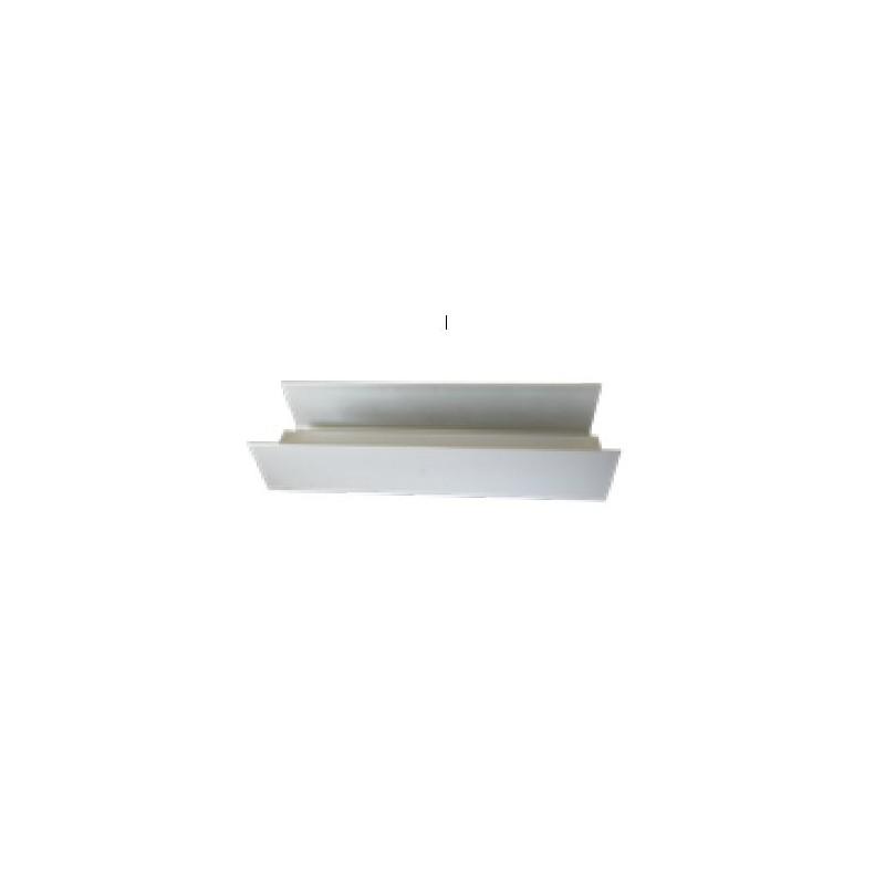 LED Deckenanbauleuchte 22x22cm - warmweiss 3000K - dimmbar