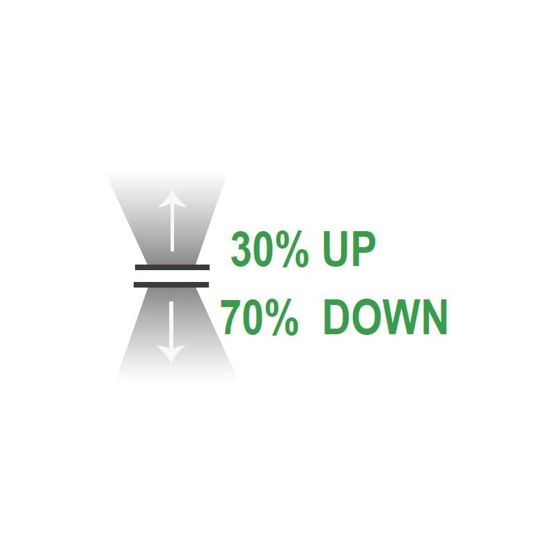 LED Downlight 15cm ∅ - dimmbar