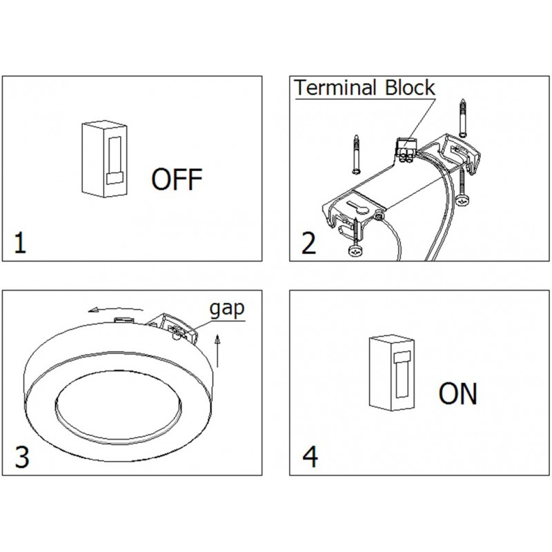 panneau led downlight 20x20cm led. Black Bedroom Furniture Sets. Home Design Ideas