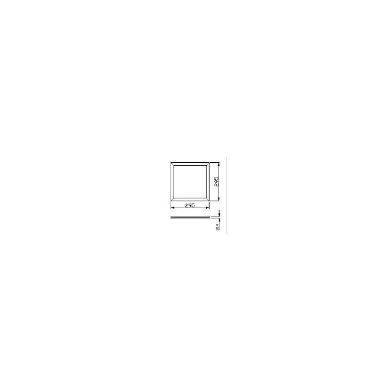 LED Downlight 17.5cm ∅ - Nasszellen IP44