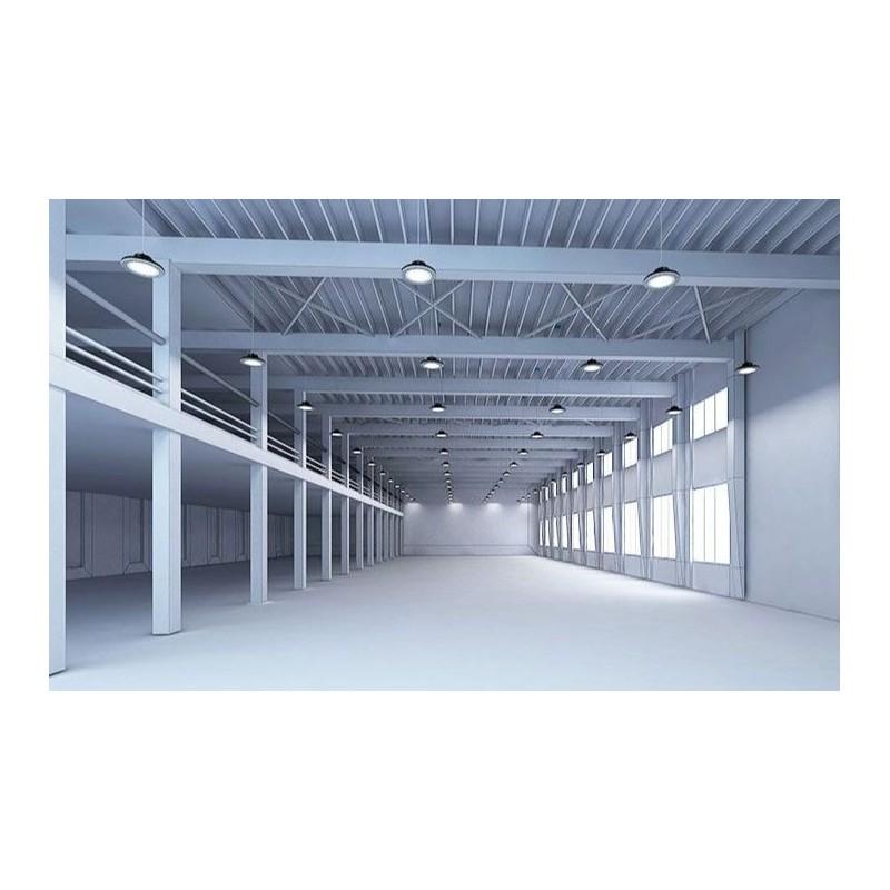 Panneau LED Downlight 17x17cm - salle d'eau IP44 - blanc chaud 3000K